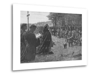 The Thanksgiving Service on the Field of Agincourt, France, 1415