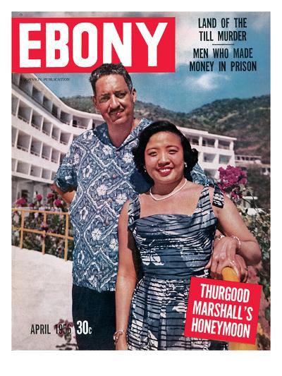 Ebony April 1956-David W^ Jackson-Photographic Print
