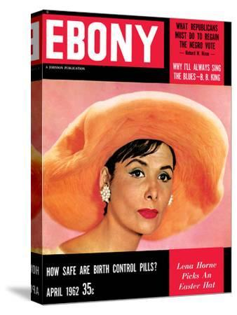 Ebony April 1966 cover, Lena Horne