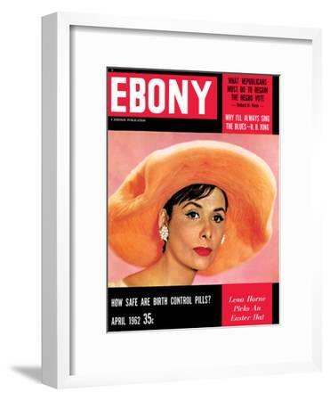Ebony April 1966 cover, Lena Horne