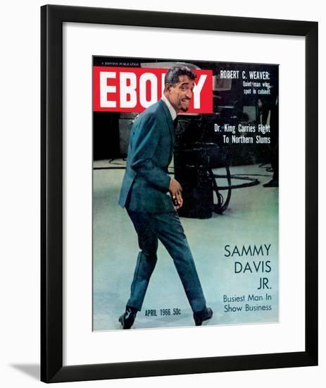 Ebony April 1966-G.Marshall Wilson-Framed Photographic Print
