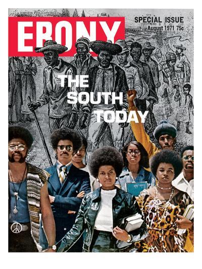 Ebony August 1971-Herbert Temple-Photographic Print