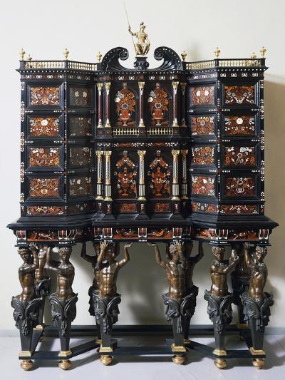 Ebony Cabinet with Inlays--Giclee Print