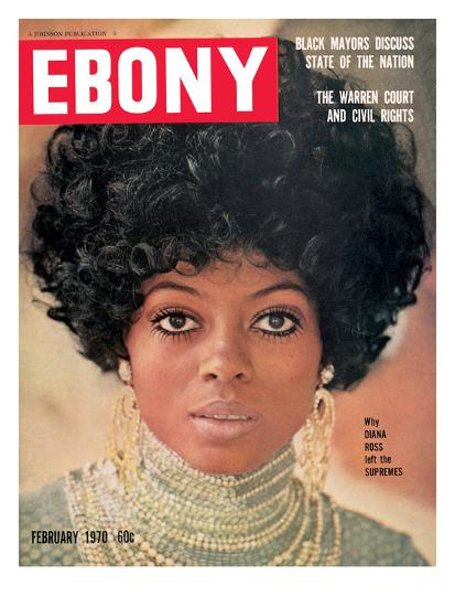 Ebony February 1970-Leroy Patton-Photographic Print