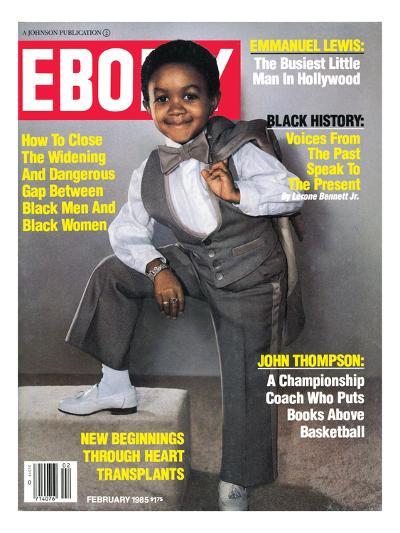 Ebony February 1985-Isaac Sutton-Photographic Print