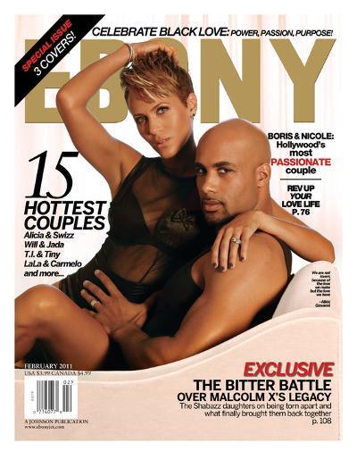 Ebony February 2011-Dudley Brooks-Photographic Print