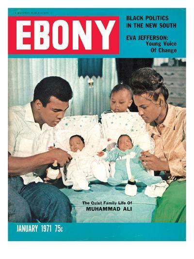 Ebony January 1971-Isaac Sutton-Photographic Print