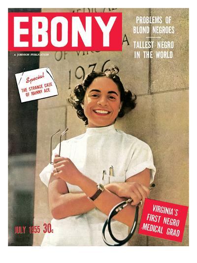 Ebony July 1955-David W^ Jackson-Photographic Print