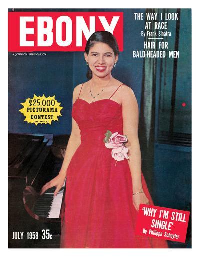 Ebony July 1958-G. Marshall Wilson-Photographic Print