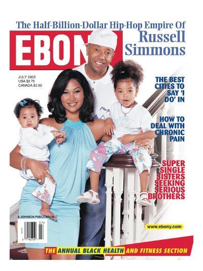Ebony July 2003-Vandell Cobb-Photographic Print