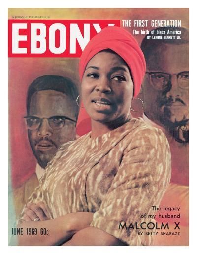 Ebony June 1969-Moneta Sleet Jr.-Photographic Print