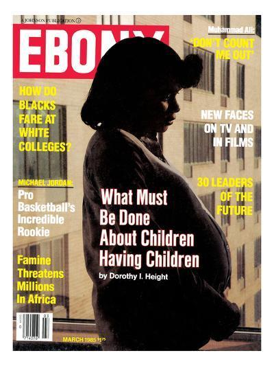 Ebony March 1985-James Mitchell-Photographic Print