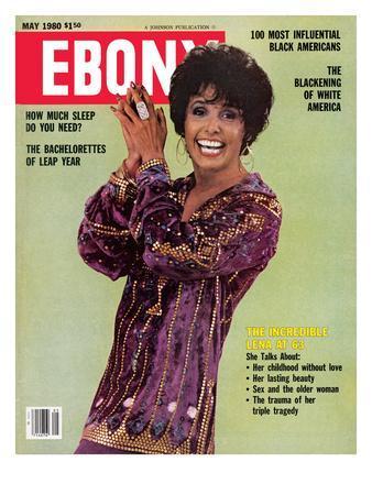 Ebony May 1980-Moneta Sleet Jr.-Photographic Print