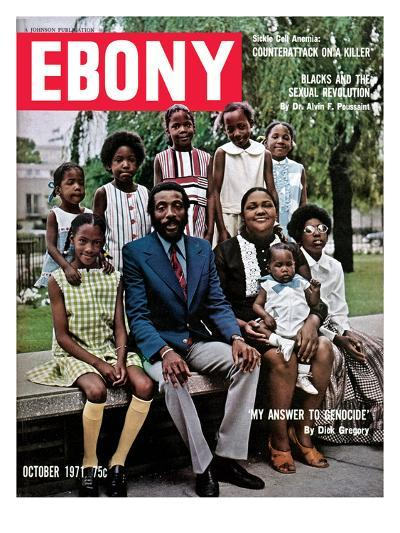Ebony October 1971-Hal Franklin-Photographic Print