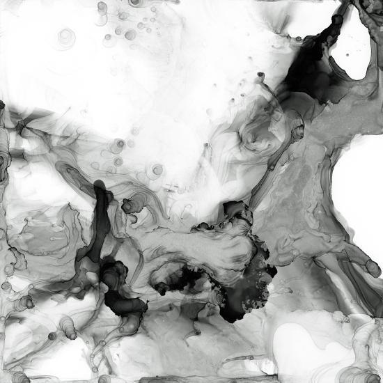 Ebony Plume II-Jennifer Goldberger-Art Print