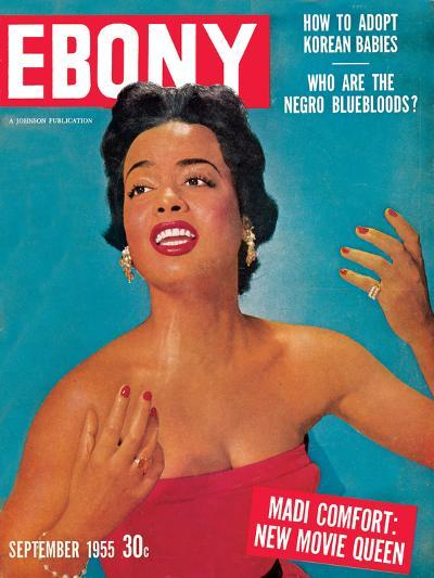 Ebony September 1955-Howard Morehead-Photographic Print