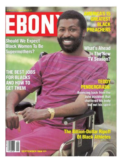Ebony September 1984-Moneta Sleet Jr.-Photographic Print