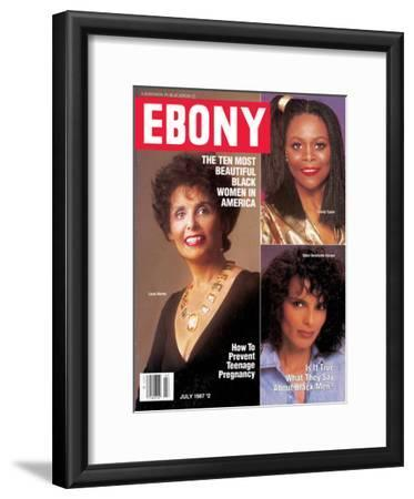 Ebony July 1987