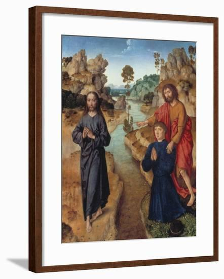 Ecce Agnus Dei, about 1462/64-Dieric Bouts-Framed Giclee Print