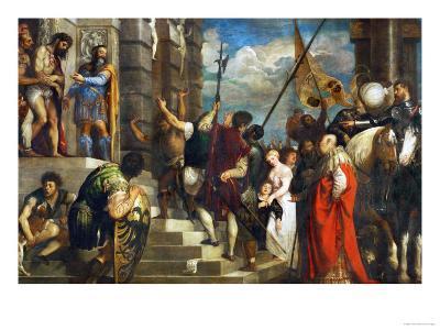Ecce Homo, 1543-Titian (Tiziano Vecelli)-Giclee Print