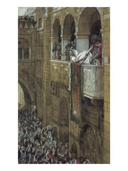 Ecce Homo!-James Tissot-Giclee Print