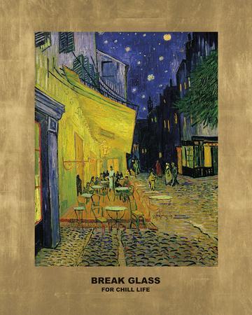 Cafe - Break Glass (after Vincent Van Gogh)