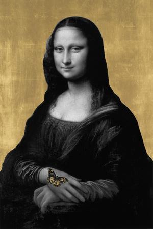 Gilded Enigma (after Leonardo da Vinci)