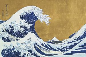 Great Wave Of Kanagawa (after Katsushika Hokusai) by Eccentric Accents