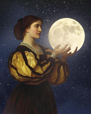 The Moon In Her Hands