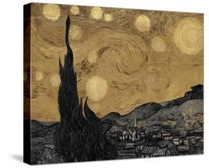 The Starry Night, June 1889 - Luxe by Eccentric Accents
