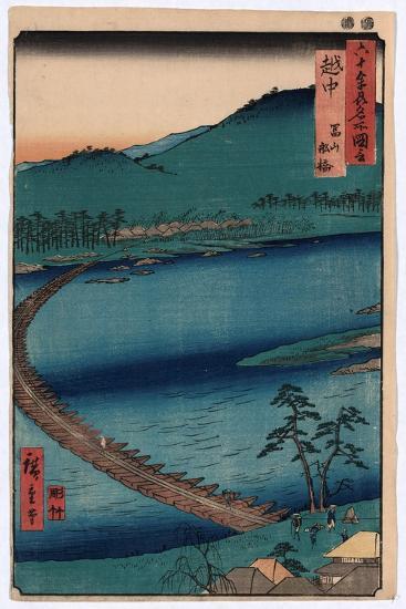 Ecchu-Utagawa Hiroshige-Giclee Print