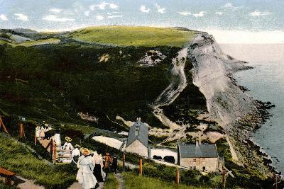 Ecclesbourne Cliff, Hastings, East Sussex, Early 20th Century--Giclee Print