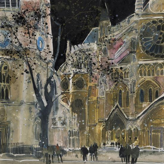 Ecclesiastical Icon, Westminster Abbey, London-Susan Brown-Giclee Print