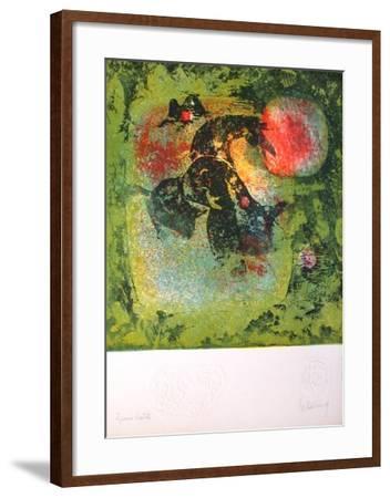 Echec a la Lune-Lebadang-Framed Premium Edition