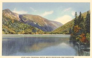 Echo Lake, Franconia Notch, New Hampshire