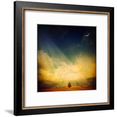 Echo of a Sigh-Philippe Sainte-Laudy-Framed Premium Photographic Print