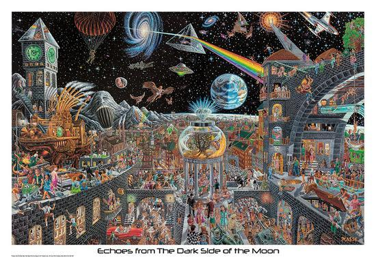 Echoes From The Darkside Of The Moon - Tom Masse--Poster