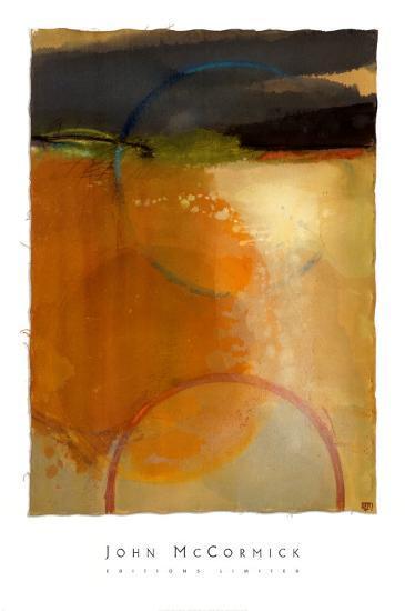 Echoes through the First Gate-John McCormick-Art Print