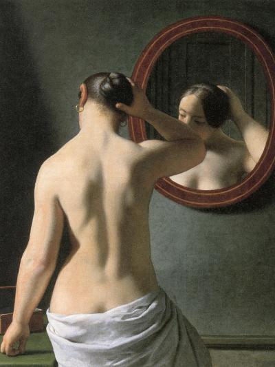 Eckersberg: Nude, C1837-Christoffer-wilhelm Eckersberg-Giclee Print
