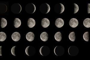 Phases of the Moon by Eckhard Slawik