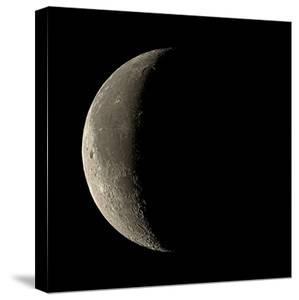 Waning Crescent Moon by Eckhard Slawik