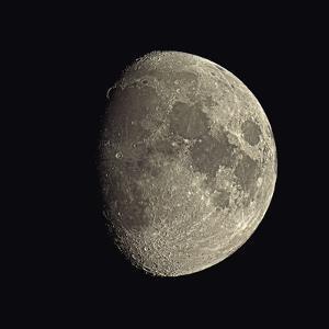 Waxing Gibbous Moon by Eckhard Slawik