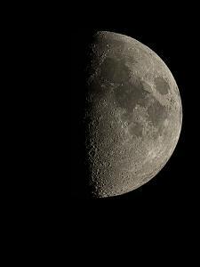 Waxing Half Moon by Eckhard Slawik