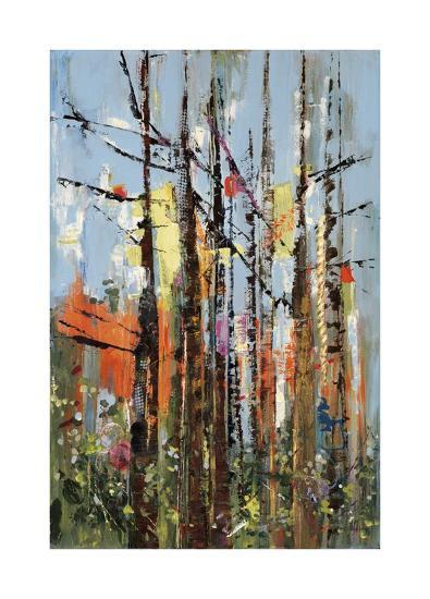 Eclectic Forest-Rebecca Meyers-Giclee Print