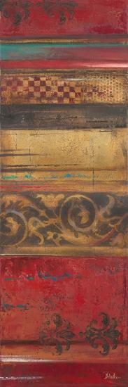 Eclecticism on Red-Patricia Pinto-Premium Giclee Print