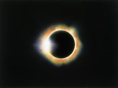 Eclipse with a Diamond Ring Effect-Roger Ressmeyer-Photographic Print