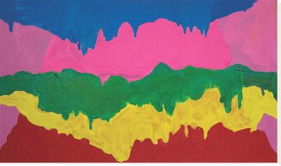 Ecstasy-Mary Heilmann-Stretched Canvas Print