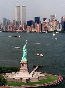 New York Landmark Statue Liberty by Ed Bailey