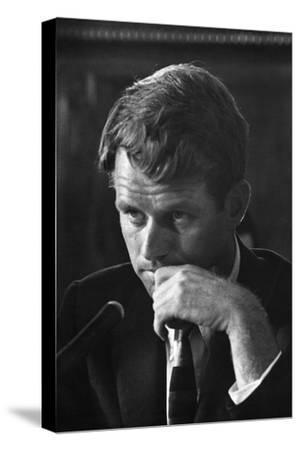 1957: Senator Robert F. Kennedy Attending a Labor Hearing in Washington, D.C