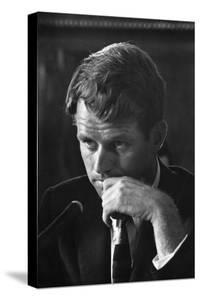 1957: Senator Robert F. Kennedy Attending a Labor Hearing in Washington, D.C by Ed Clark